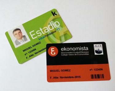 personalización de tarjetas
